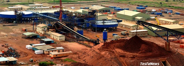 Nevsun officially begin commercial production of Copper from its Bisha mine in Eritrea.