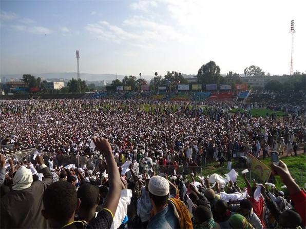Ethiopia Muslim Protest