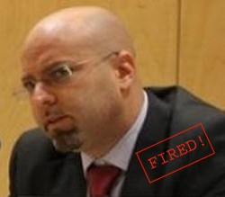 Matt Bryden fired