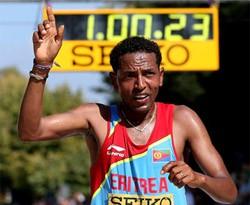 Bulgaria - half marathon win by Tadese