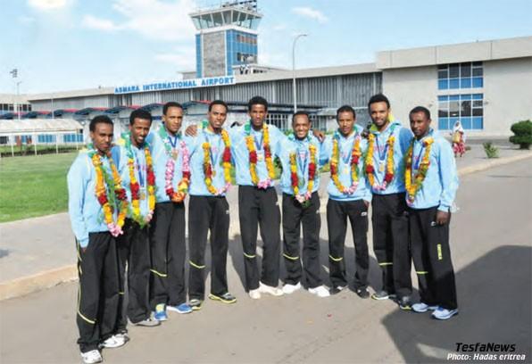 Cycling Team Eritrea 2012