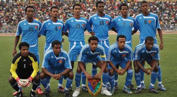 The 2012 Eritrean National Team that brought nothing but shame to the people and the country.