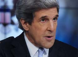 Kerry's appointment was seen as almost a certainty after UN ambassador Susan Rice pulled out of running