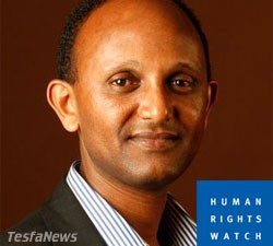 HRW Africa Division Head, Daniel Bekele, an Ethiopian with anti-Eritrea bias should not be expected to author a balanced report