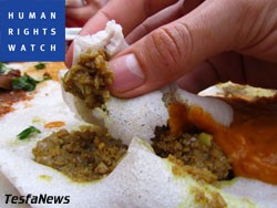 HRW's dispecable misrepresentations of the cherished Eritrean dining culture as an abuse