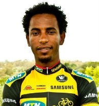Favorite of the 2013 Tour de Gabon Eritrean Meron Russom