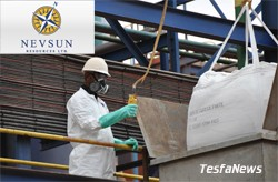 Nevsun paid more than $56 million in income tax