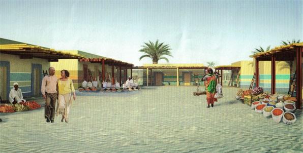 Halibay Resort - Souk