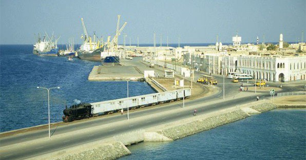 Massawa Port - the largest natural deep-water port on the Red Sea