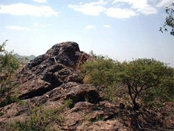 Gossan outcrops helped draw Sunridge Gold's attention  to the Kodadu zones near its Asmara project in Eritrea.