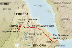 Today is the 11th anniversary of the Ethio-Eritrea border ruling. Occupation of sovereign Eritrean territory must end!
