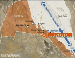 South Boulder seeking finances to develop world's shallowest evaporite potash deposit in Eritrea