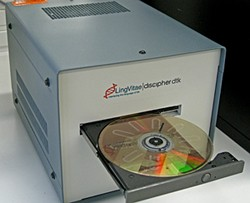 DVD player ilab scanner