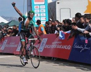 A born climber, Natnael, outclassed the rest of the field to earn his first major pro victory