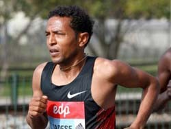 "Zersenay Tadese tweets: ""Half Marathons?... I'm engineered for it. Done it again in Japan"""