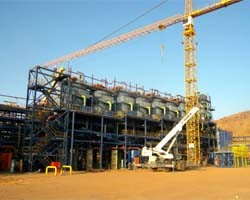 Some commissioning work started at Bisha copper project