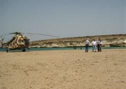 Dahlak Island Site Visit by SA Miro