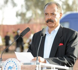 """""""We welcome our Rwandese friends for being with us on this spacial day"""" - President Isaias"""