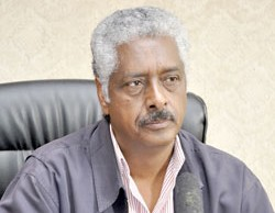 Dr. Tadesse Mehari, Executive Director of the board of institutions of higher learning