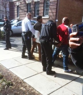 EYSC thugs arrested by D.C. police for attempting to vandalize the Eritrean Embassy