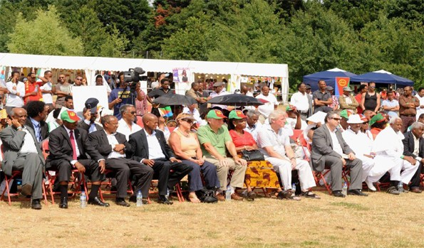 Opening Ceremony Eritrean Festival UK 2013