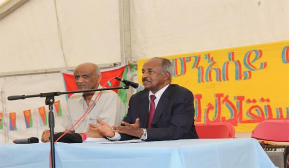 Foreign Minister Osman conducting seminar
