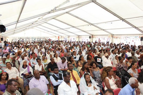 A fully packed public seminar disscussing current situations in Eritrea and the region