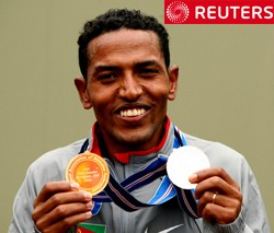 Fake twitter account @IRun4Eritrea has just fooled Reuters all thanks to their incomtent journalist Aaron Maasho