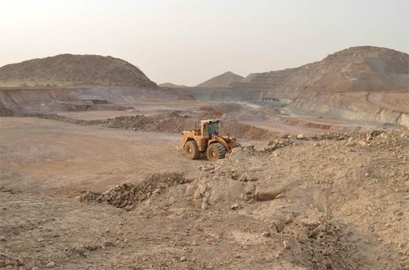 Bisha main pit looking North - June 2013
