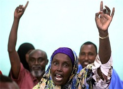 Only Somalis can secure Somalia's future. Hands off Somalia
