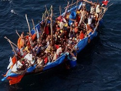 Ethiopians continue to defy death crossing the dangerous sea into Yemen almost daily.
