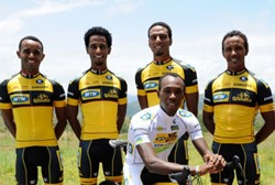 MTN Qhubeka p/b Samsung - Africa's first Professional Continental cycling team