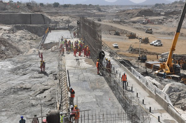 The controversial Renaissance Dam in Ethiopia is now 20% complete since inception three years ago. At this rate, it is expected to take 15 years to complete.