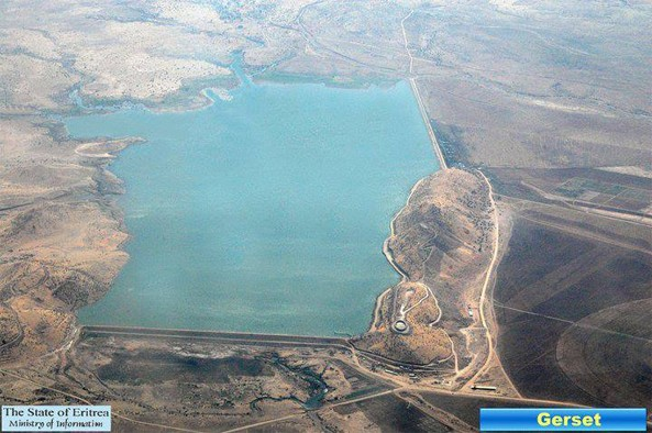 The gigantic Gerset Dam was one of the marvels made by the sweat of the Golden Eritrean Youth