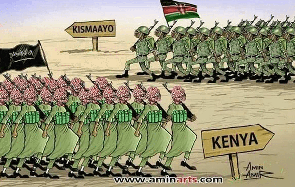 The decision...to deploy 1000s of troops in Somalia...is biggest security gamble Kenya has taken.