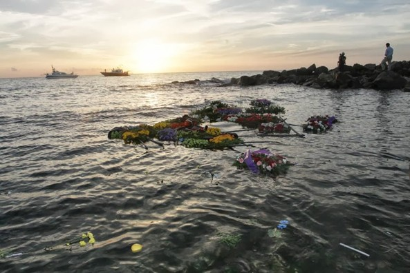 Memorial service for the victims of Lampedusa in the Italian City of Agrigento