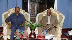 A three day state visit to Port Sudan by Eritrean President Isaias Afwerki