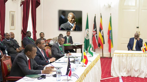 Kenya, as the permanent chair of the IGAD sub-committee on Sudan, wants to take charge of South Sudan Crisis but the invisible hands of Ugandan strong man might made the situation in South Sudan as well as the efforts by IGAD a little complicated