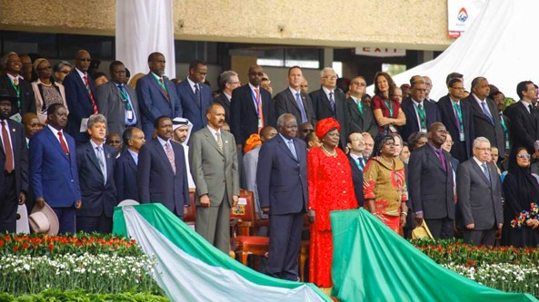 President Isaias among invited dignitaries participating on the celebration