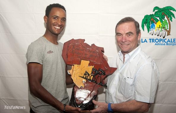 Natnael Berhane African Cyclist of the Year 2012