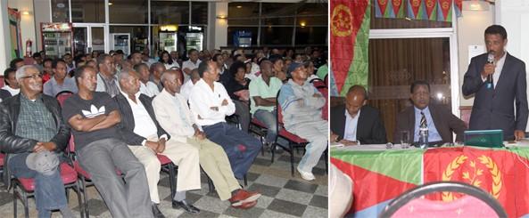 Public seminar for Eritreans in Nairobi by Ambassador Beyene Russom - 24 Nov 2013
