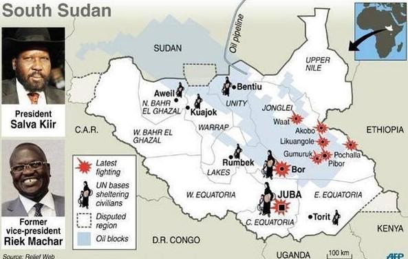 Ethiopians and Eritreans in South Sudan seek help