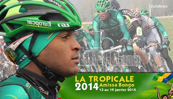 African pride Eritrean Natnael Berhane is now the only African rider to accomplish two stage and tour win in the history of La Tropicale Amissa Bongo