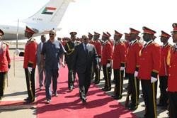 President Al-Bashir Arrives in Asmara