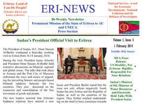 Eritrean Mission to the AU and UNECA released Eri-News 1.19