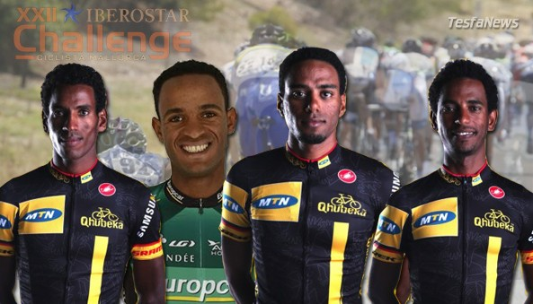 Three Eritrean riders from team MTN-Qhubeka and another from team Europcar will race at the Trefeo Serra De Tramuntana event in Spain later today