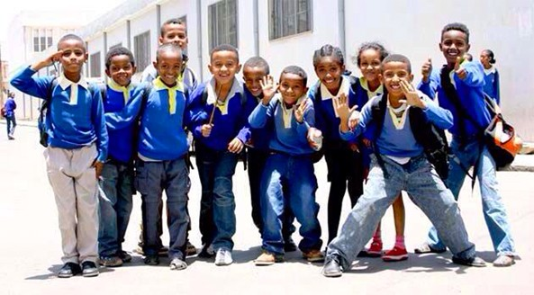 A Happy, Healthy and Beautiful Kids of Eritrea