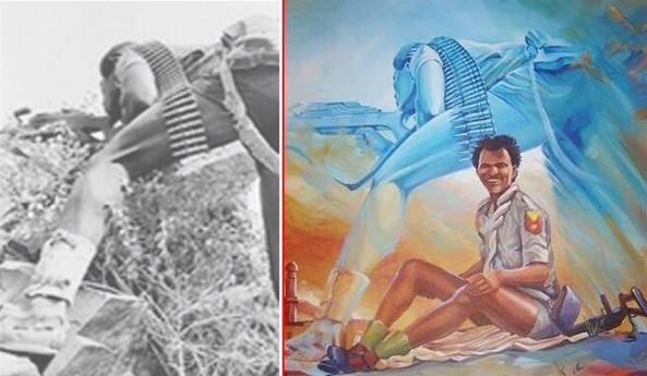 Eritrean Art. Imitation is the greatest form of flattery