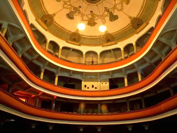Asmara Theater: A superlative examples of the various styles of the preserved modern architecture