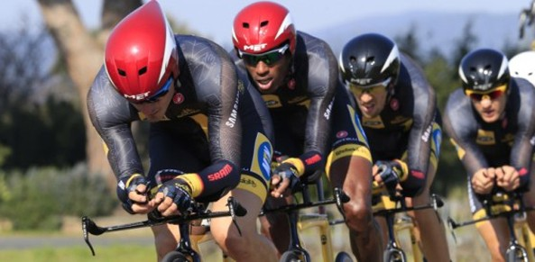 A team of six greedy Eritrean riders mercilessly scooped ten of the eleven winners' medals at the 2014 tour d'Algerie. Daniel Teklehaimanot with his team MTN-Qhubeka is in a World Tour race.